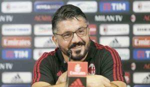 Rino Gattuso risponde sui problemi del suo Milan