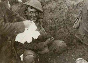Centenario Grande Guerra: il mistero della foto del soldato che ride